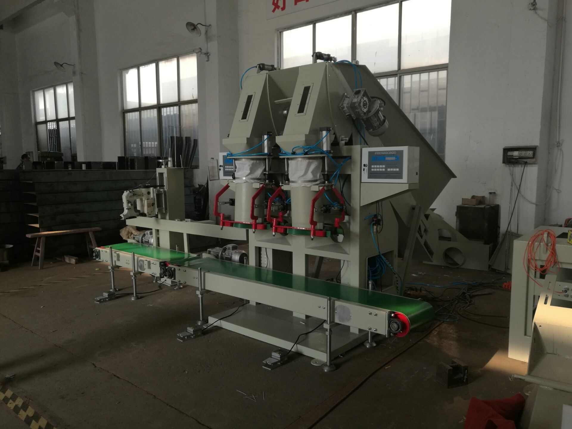 High Capacity Coal Bagger Coal Bagging Equipment Charcoal Bagging Machine