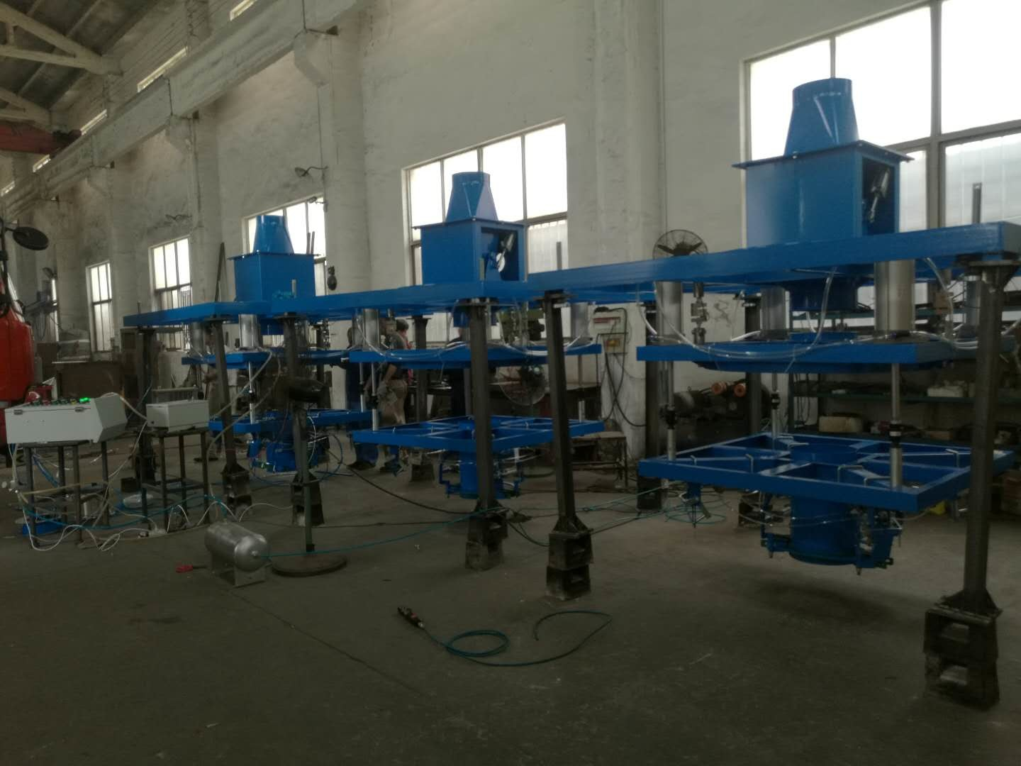Fly Ash Big Semi Automatic Bag Filling Machine Coal Powder Jumbo Bag Weighing Scale